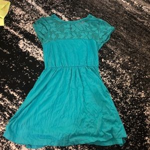 ASOS teal dress